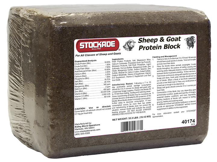 Sheep & Goat Protein Block