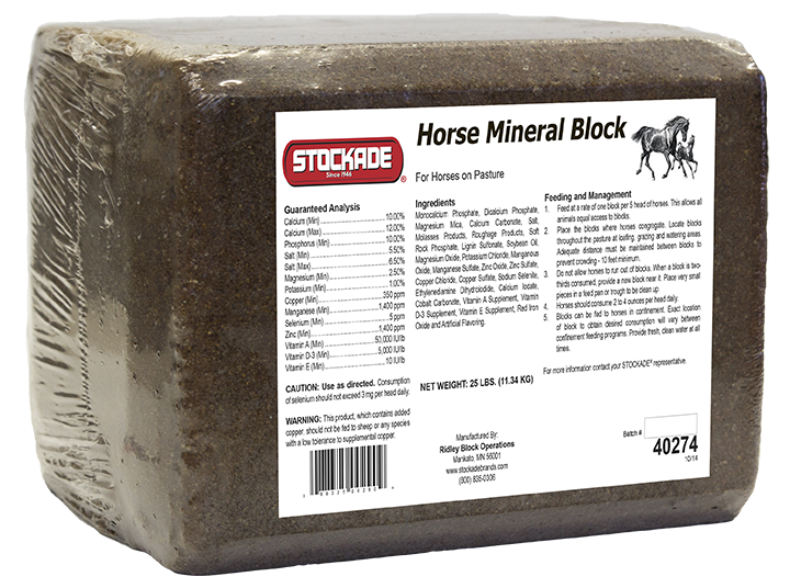Horse Mineral Pressed