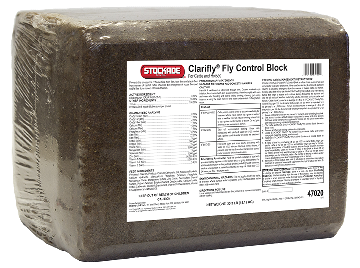 ClariFly® Fly Control Pressed