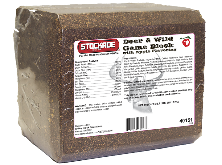 STOCKADE® Deer and Wild Game Pressed
