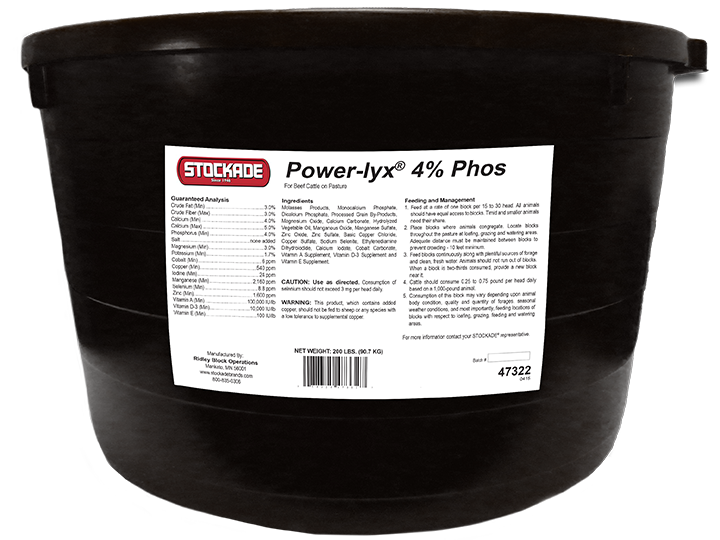 STOCKADE® Power-Lyx® 4% Phos LMB